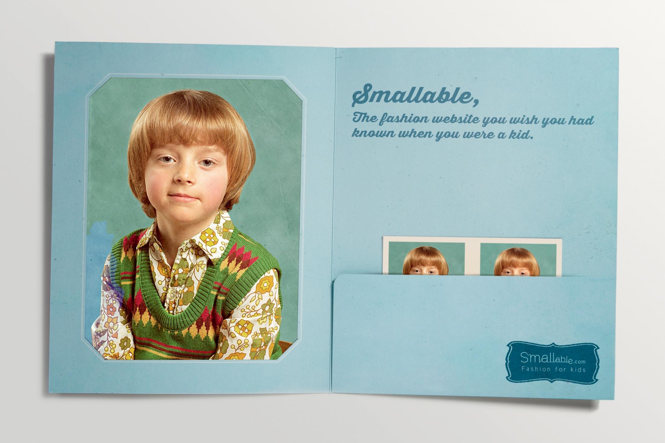 Smallable Print Ad -  Child, 1