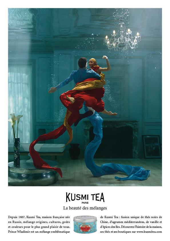 Kusmi Tea Print Ad -  The beauty of blends, Prince Wladimir