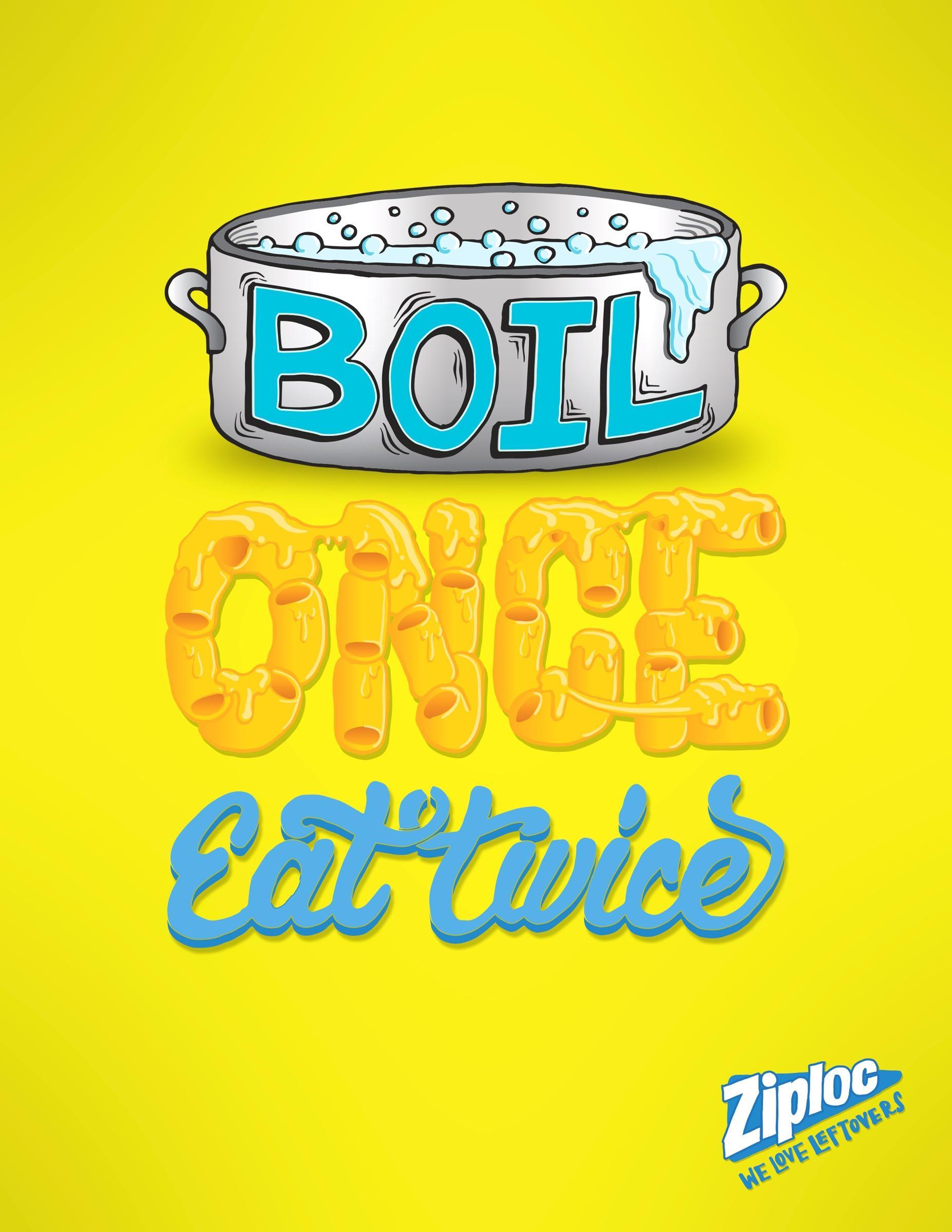 Ziploc Print Ad -  We love leftovers, 2
