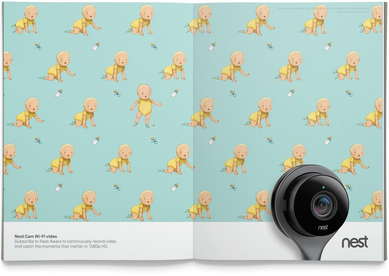 Nest Print Ad -  Video
