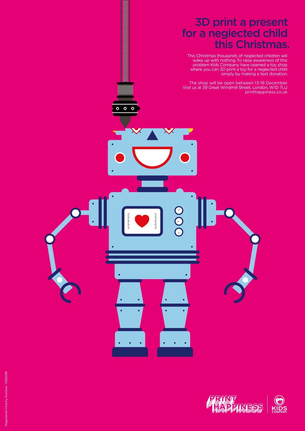 Kids Company Print Ad -  Print Happiness, 2