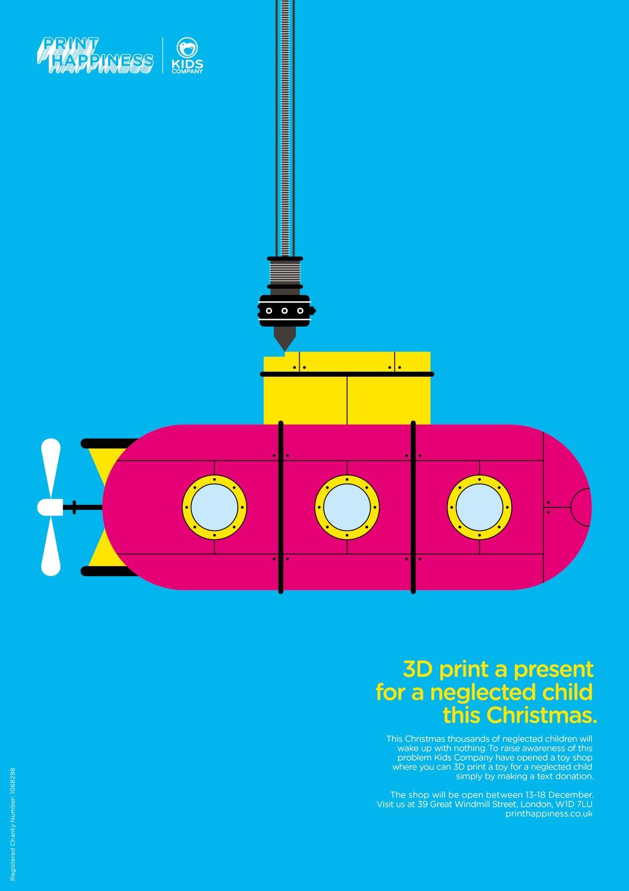 Kids Company Print Ad -  Print Happiness, 4