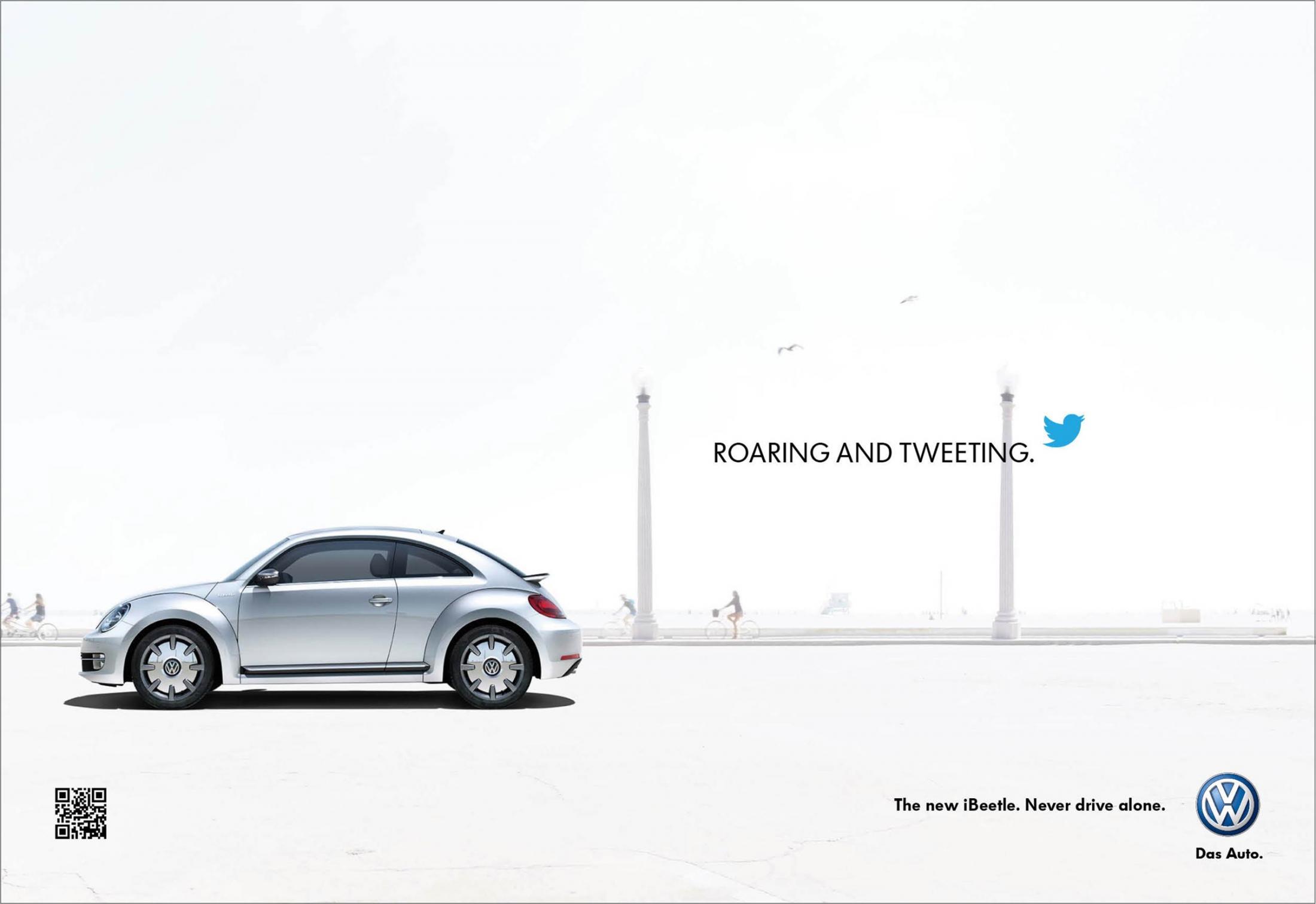 Volkswagen Print Ad -  iBeetle, 2