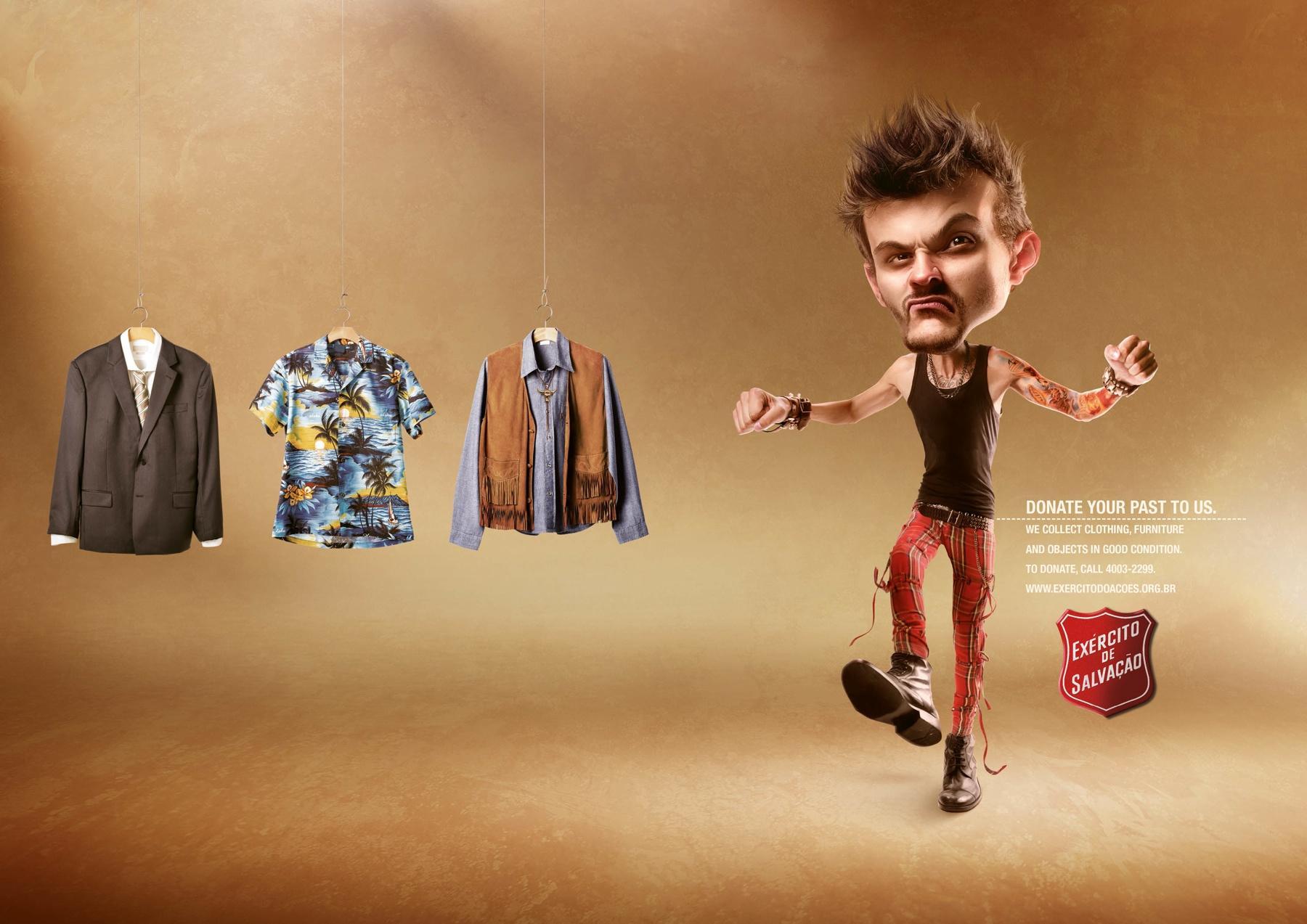 Salvation Army Print Ad -  Punk