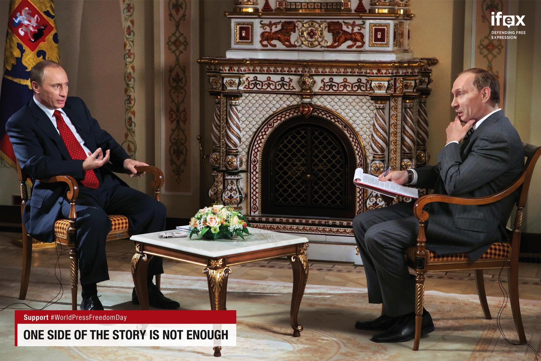 IFEX Print Ad - Leaders on Leaders - Putin on Putin
