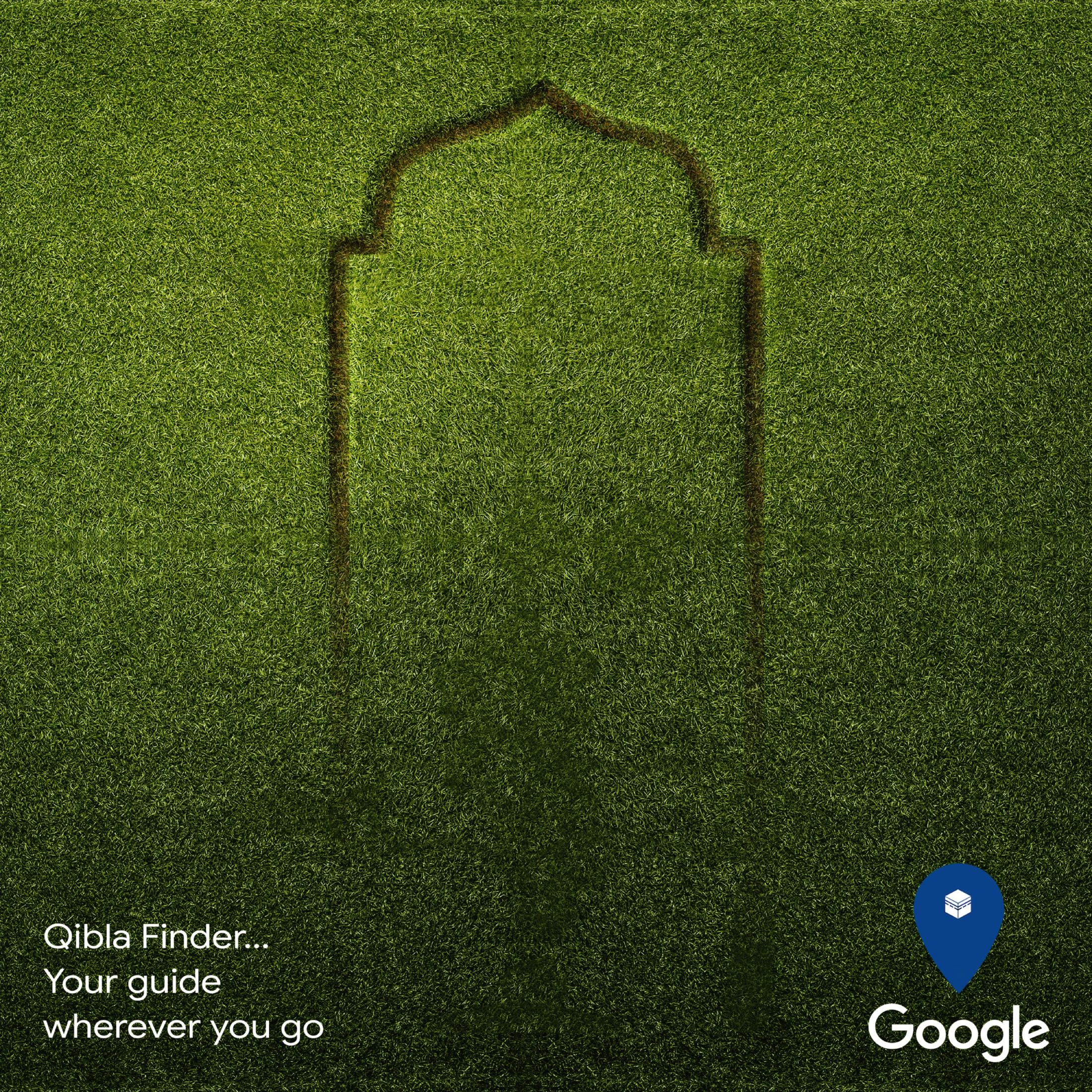 Google Print Ad - Qibla Finder, 2