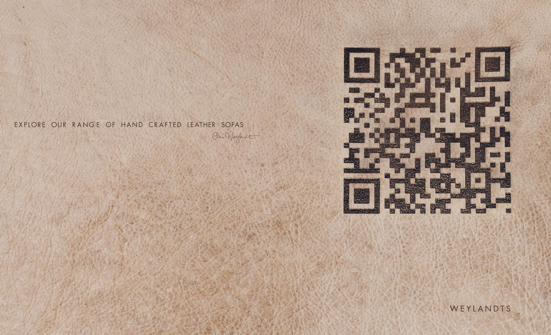 Weylandts Furniture Print Ad -  Leather