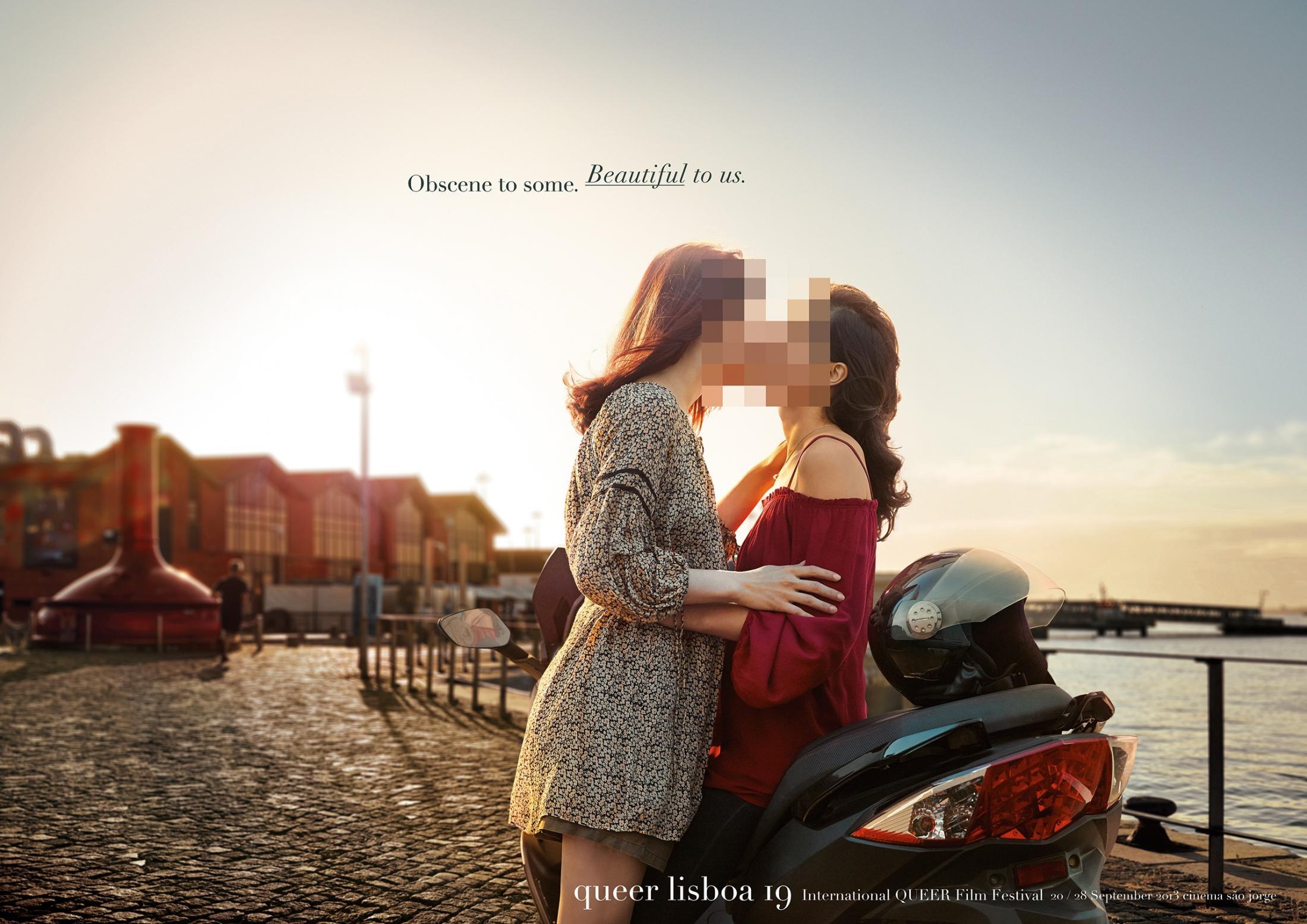 Queer Lisboa Print Ad -  Beautiful, 2