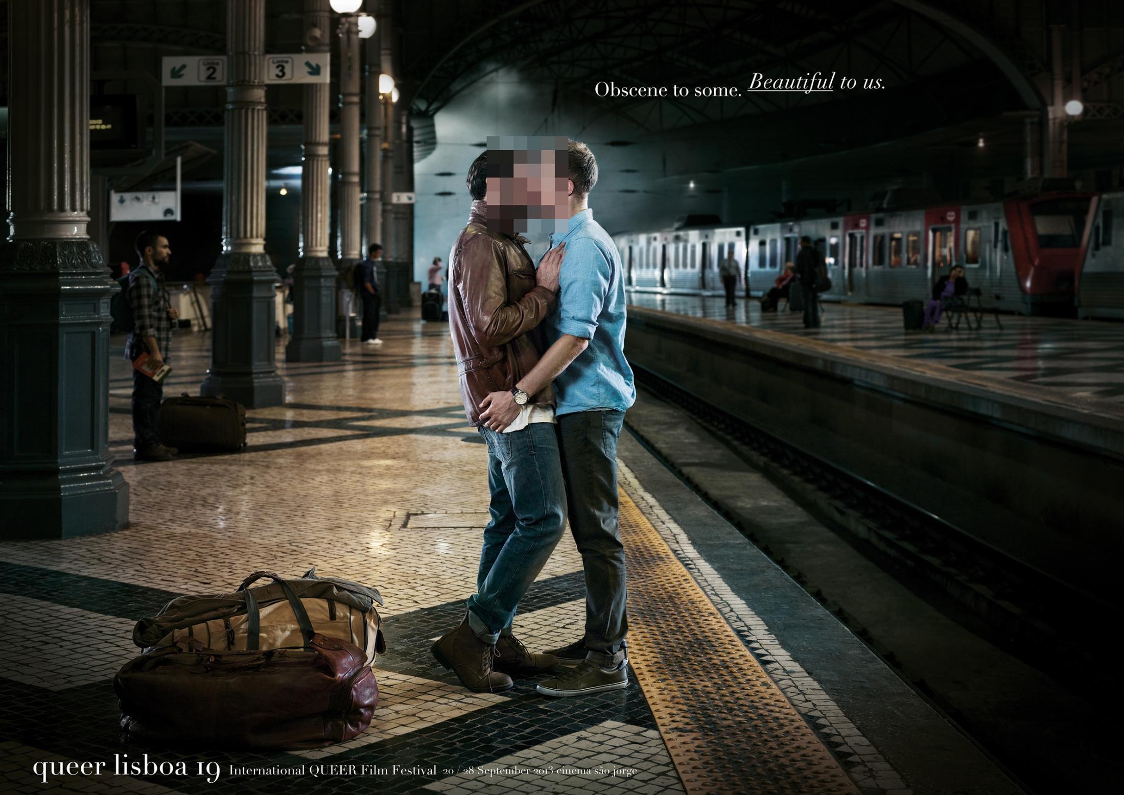Queer Lisboa Print Ad -  Beautiful, 3