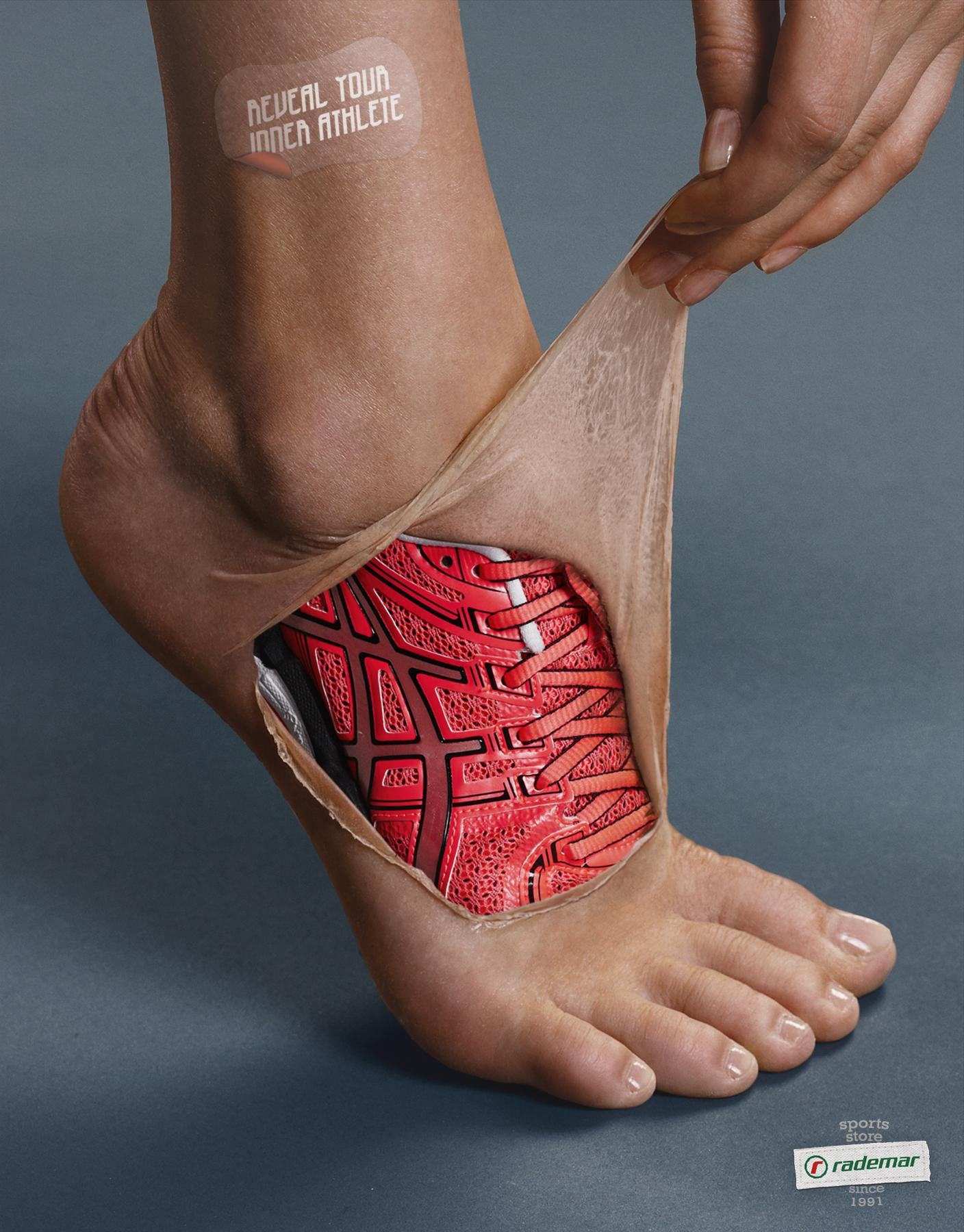 Rademar Print Ad -  Feet