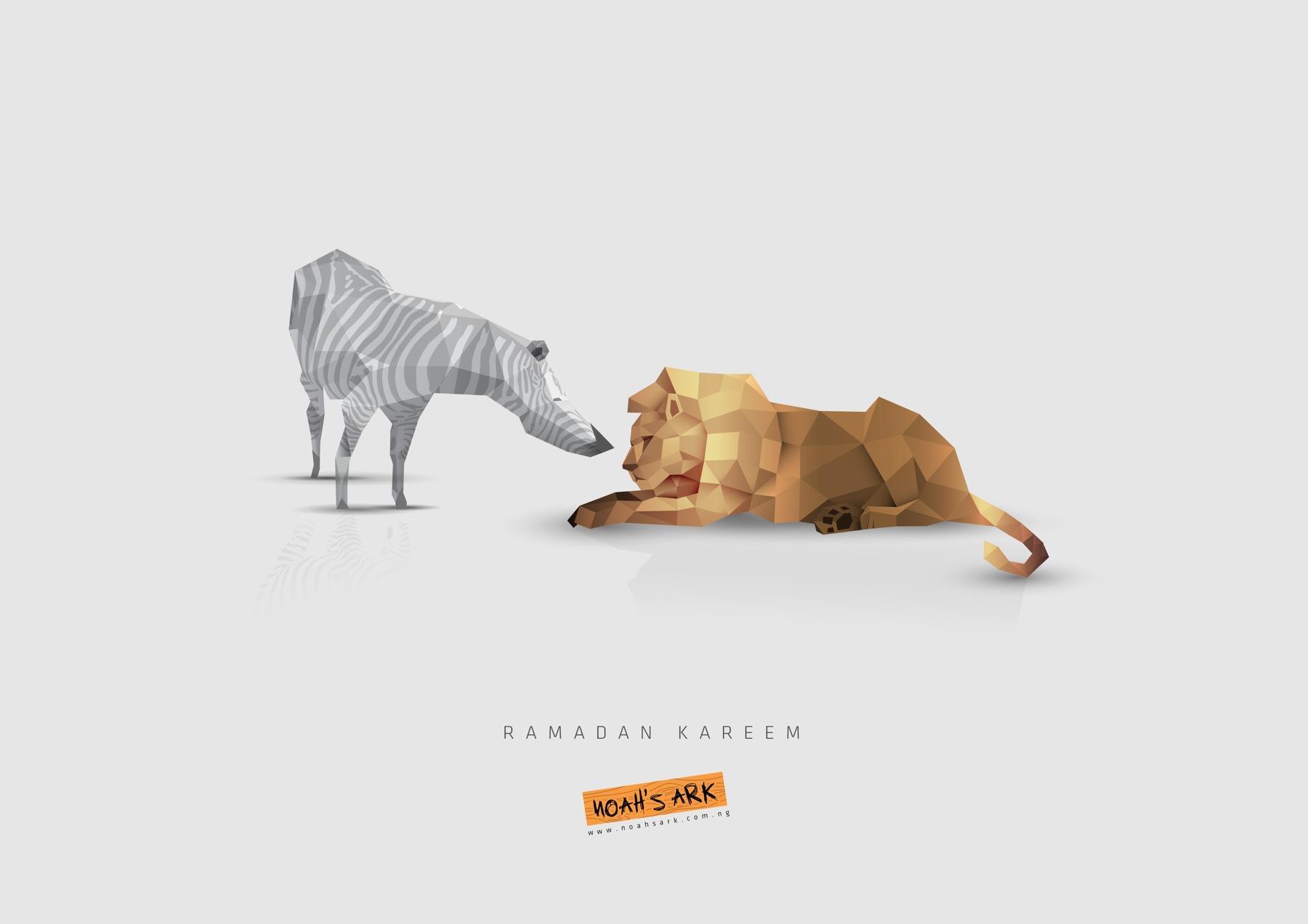 Noah's Ark Creative Print Ad -  Ramadan, 1
