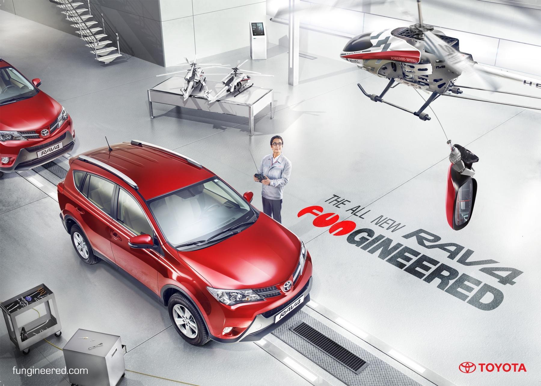 Toyota Print Ad -  Fungineered, 2