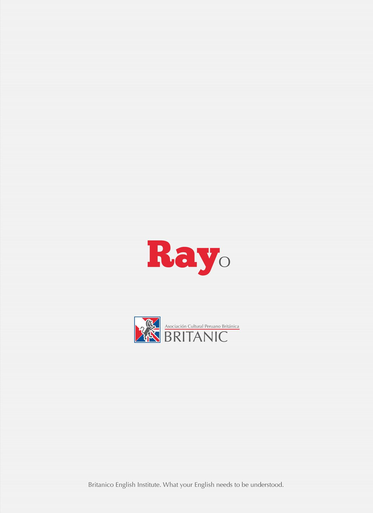 Británico Print Ad -  Ray