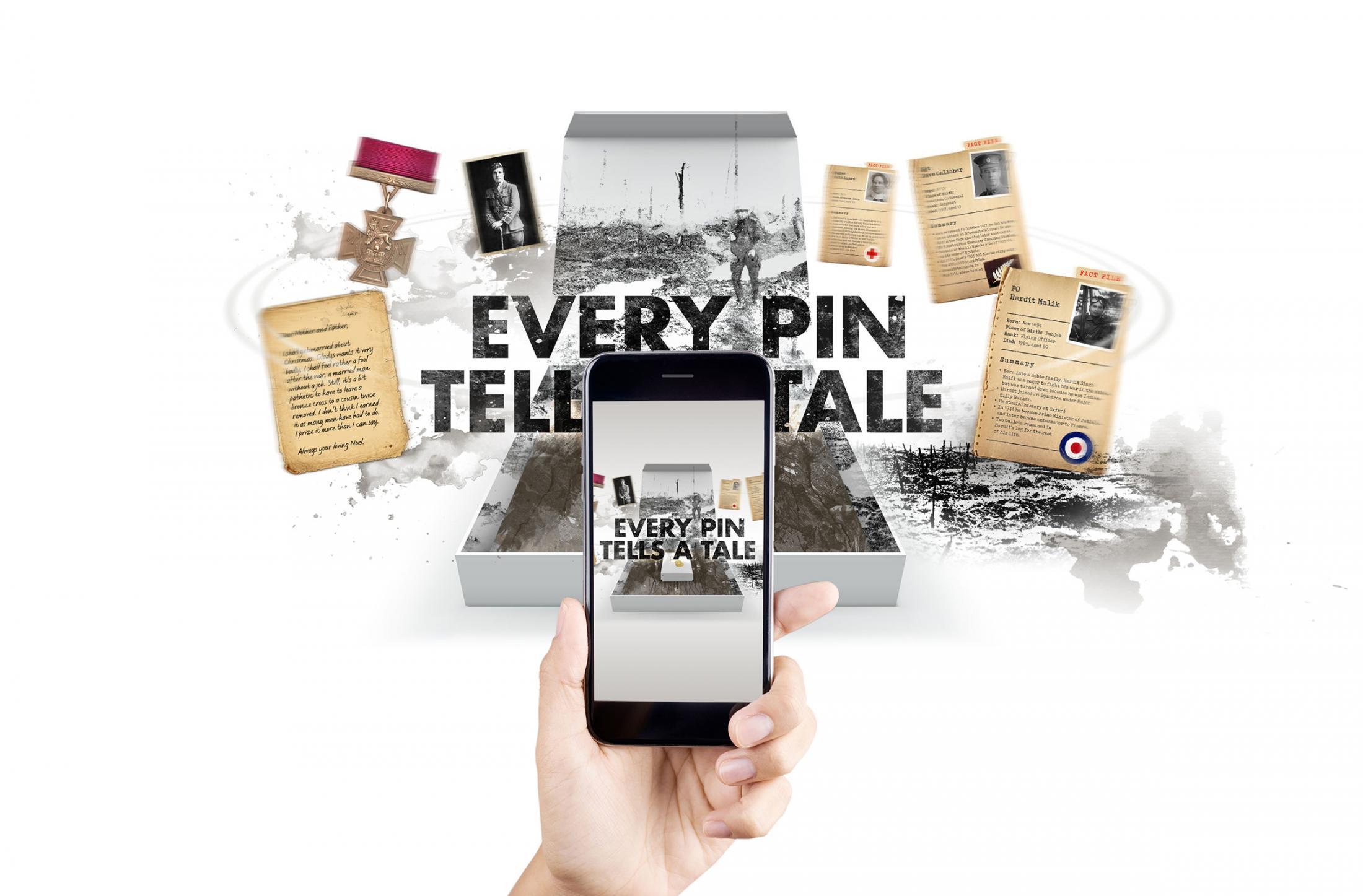 The Royal British Legion Digital Ad - Every Pin Tells a Tale
