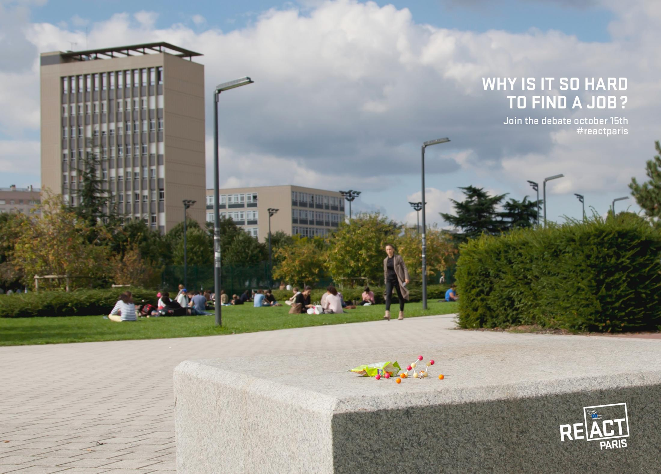 European Parliament Outdoor Ad -  Why is it so hard to find a job?, 3
