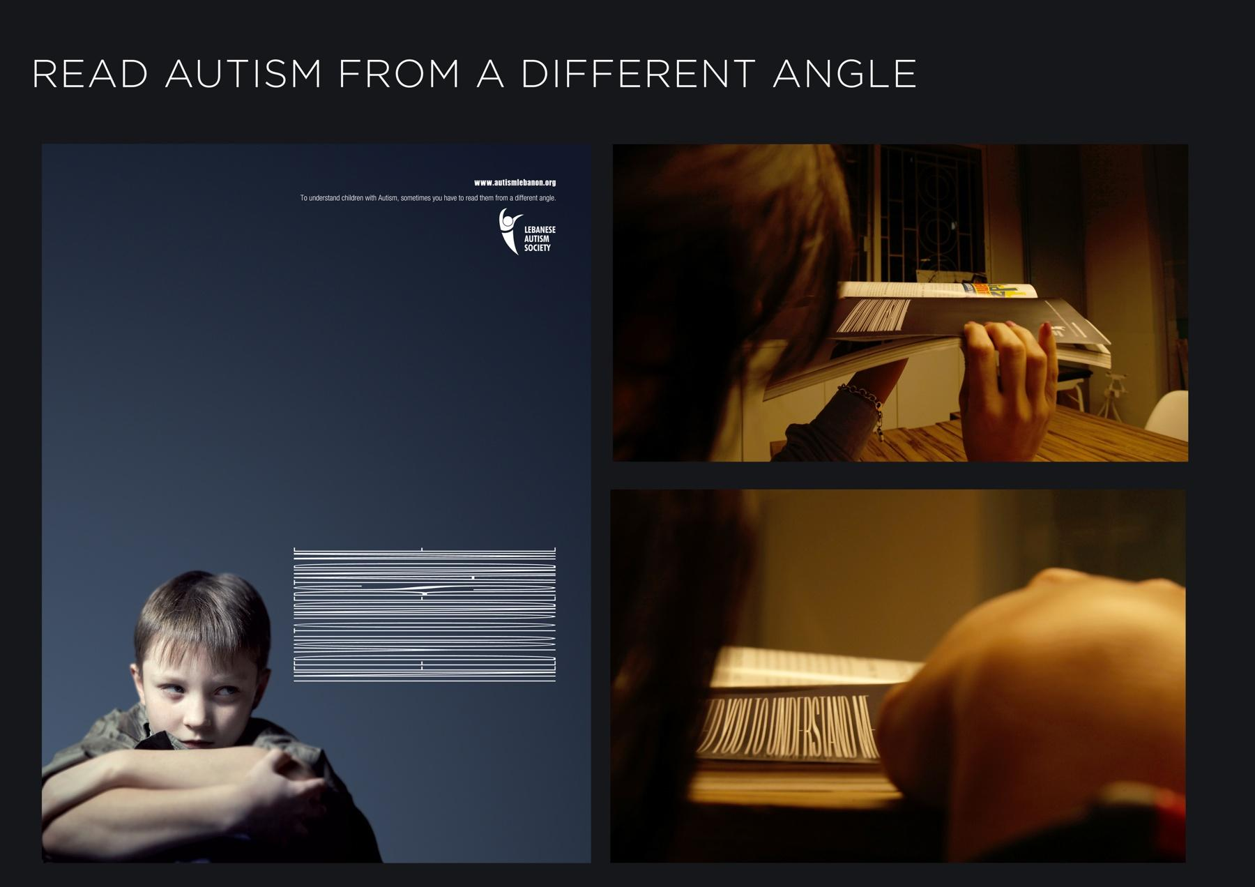 Lebanese Autism Society Direct Ad -  Read autism from a different angle