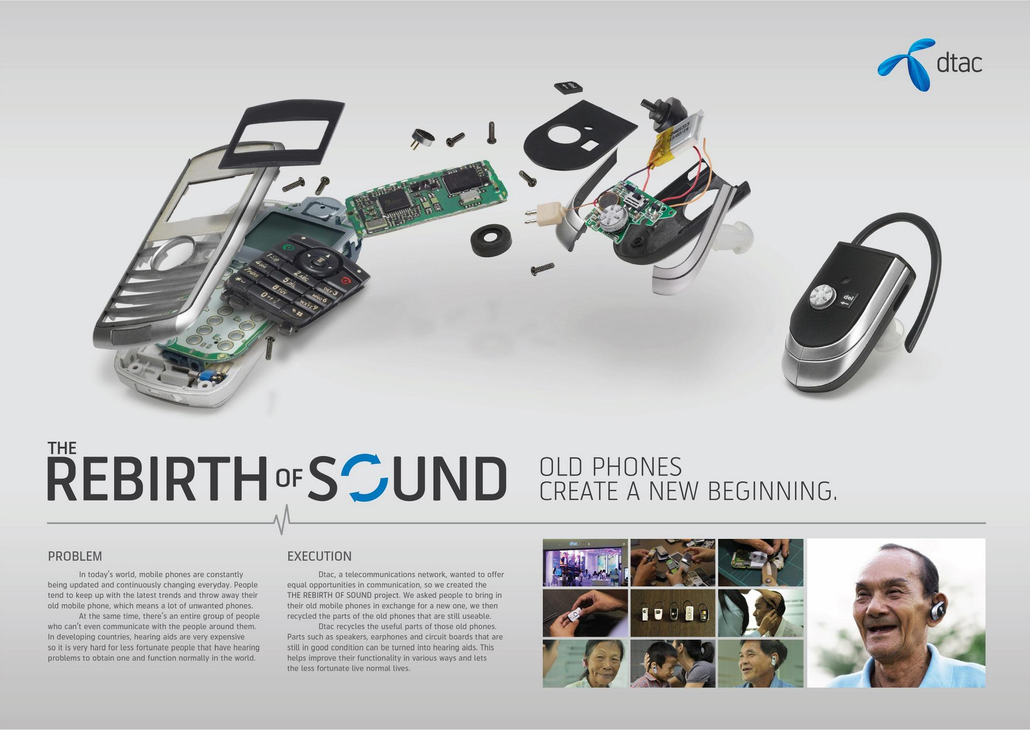 DTAC Direct Ad -  Rebirth of Sound