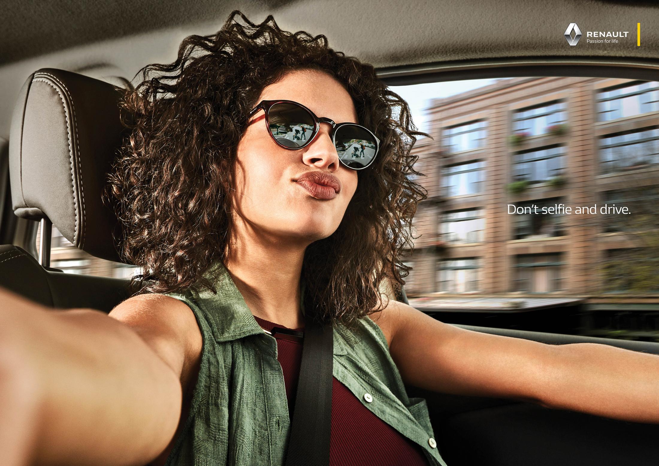 Renault Print Ad - Selfies, 1