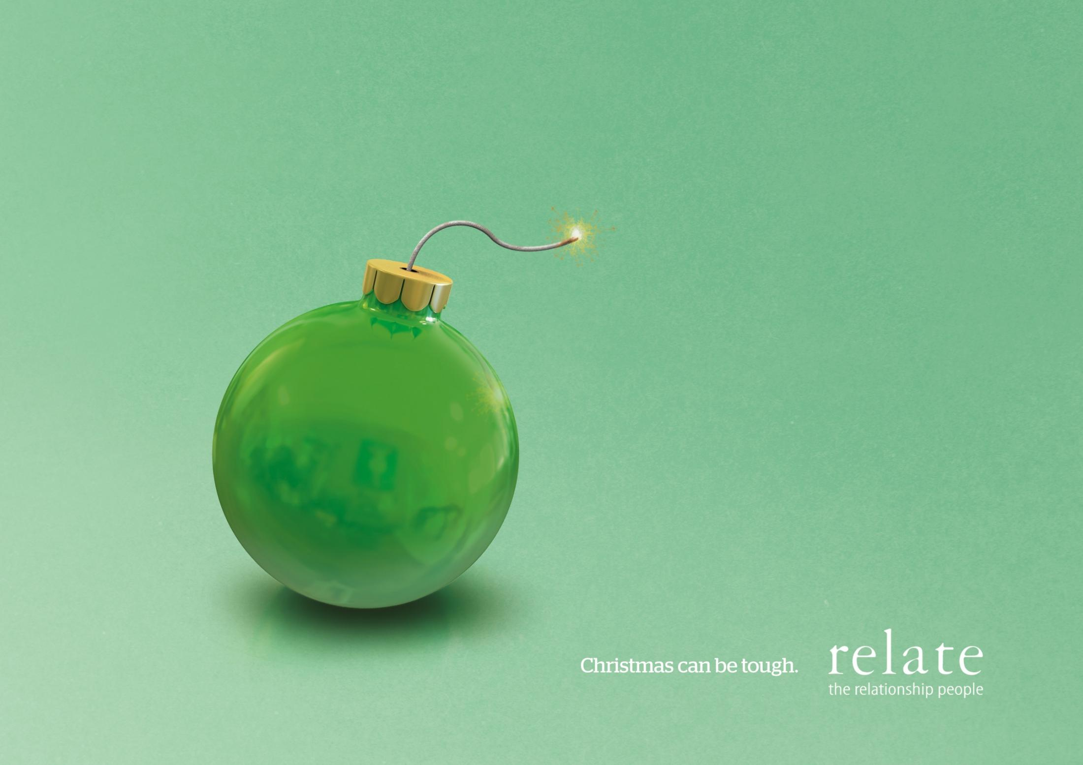 Relate Print Ad -  Bauble