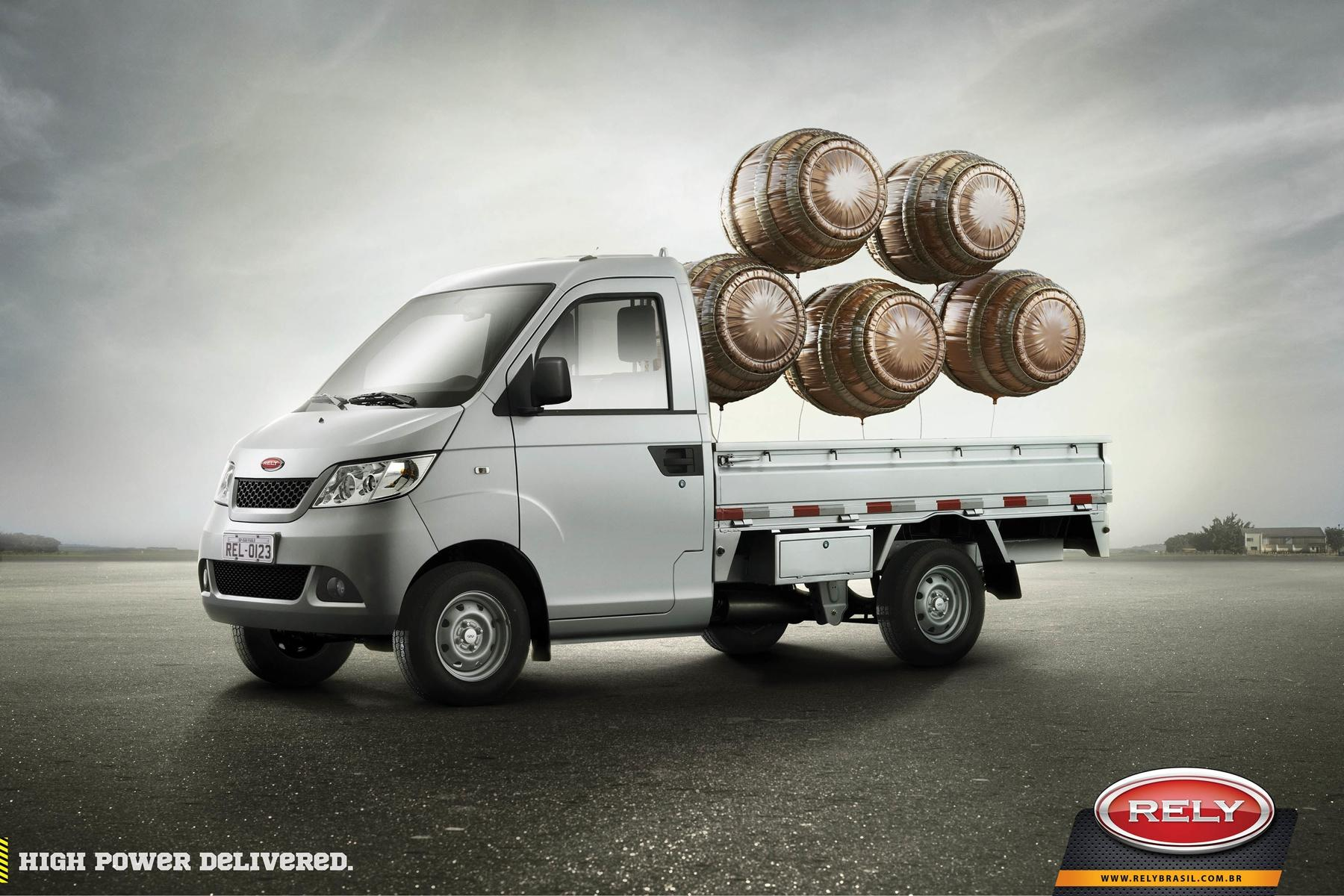 Rely Trucks Print Ad -  Barrell