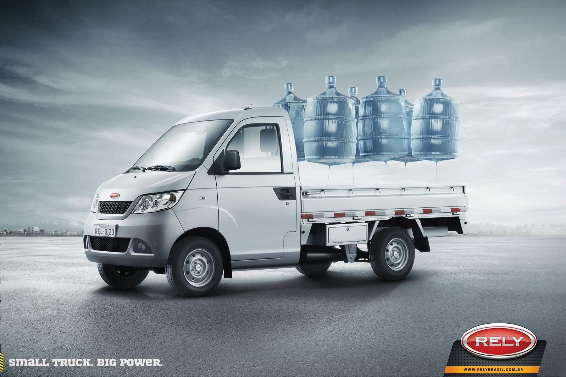 Rely Trucks Print Ad -  Water