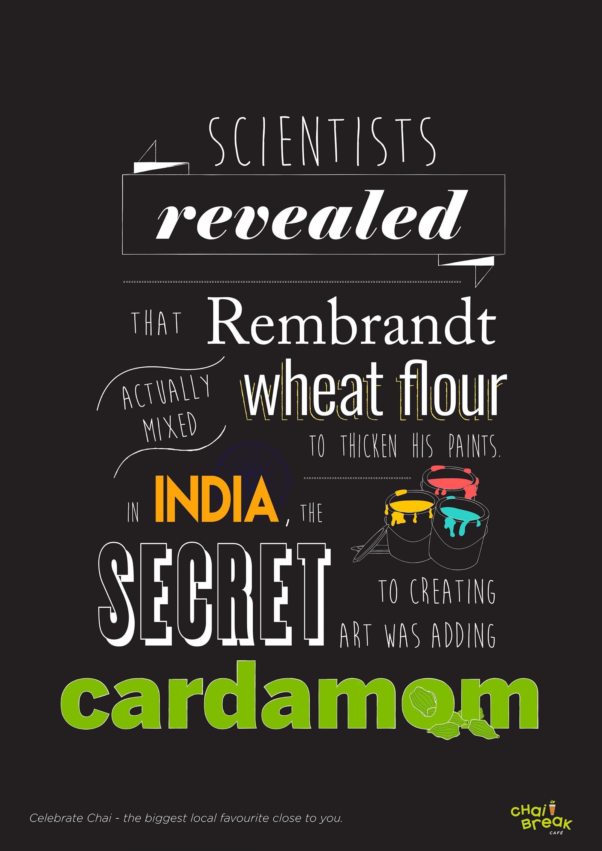 Chai Break Digital Ad - Rembrandt