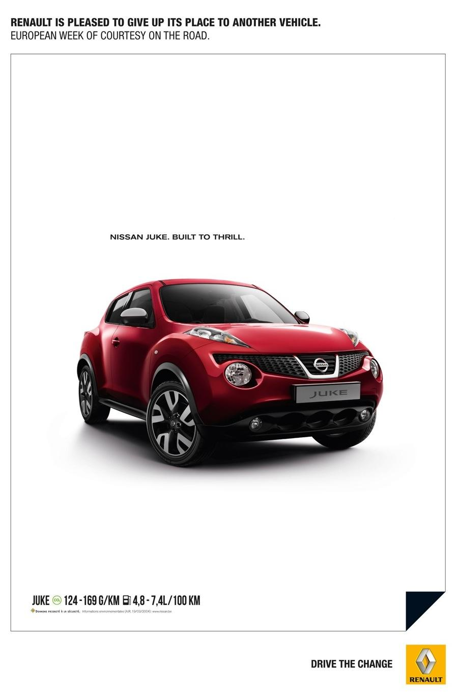 Renault Print Ad -  Renault Courtesy Ad, 1