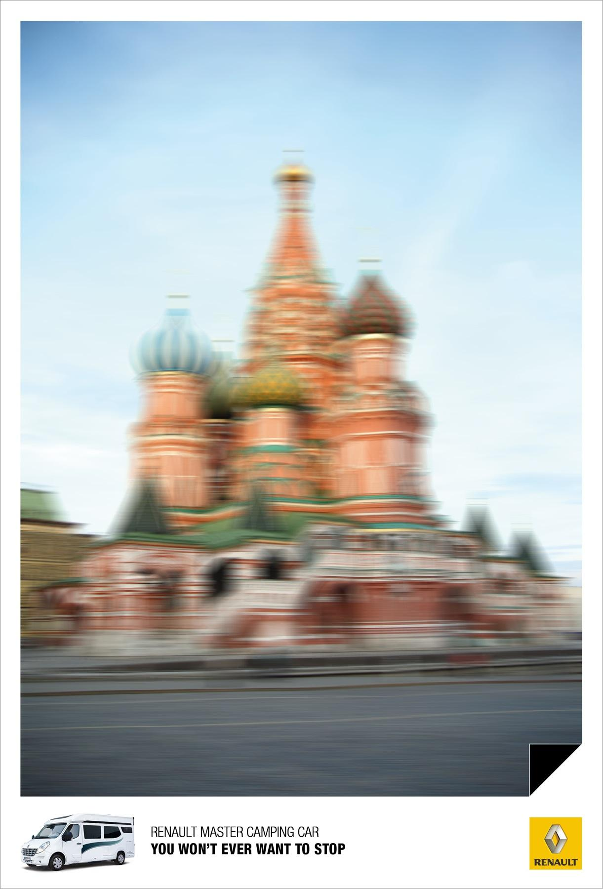 Renault Print Ad -  Moscow