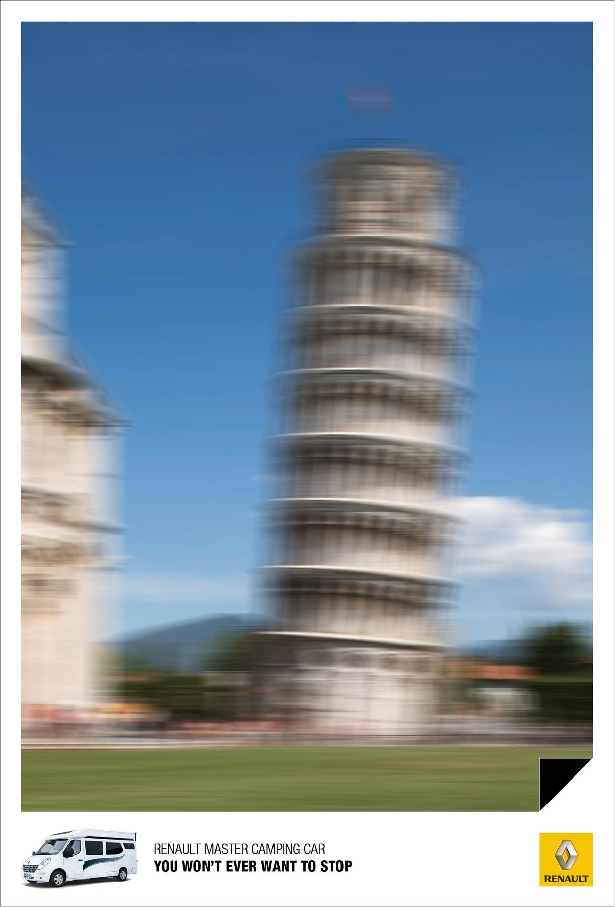 Renault Print Ad -  Pisa