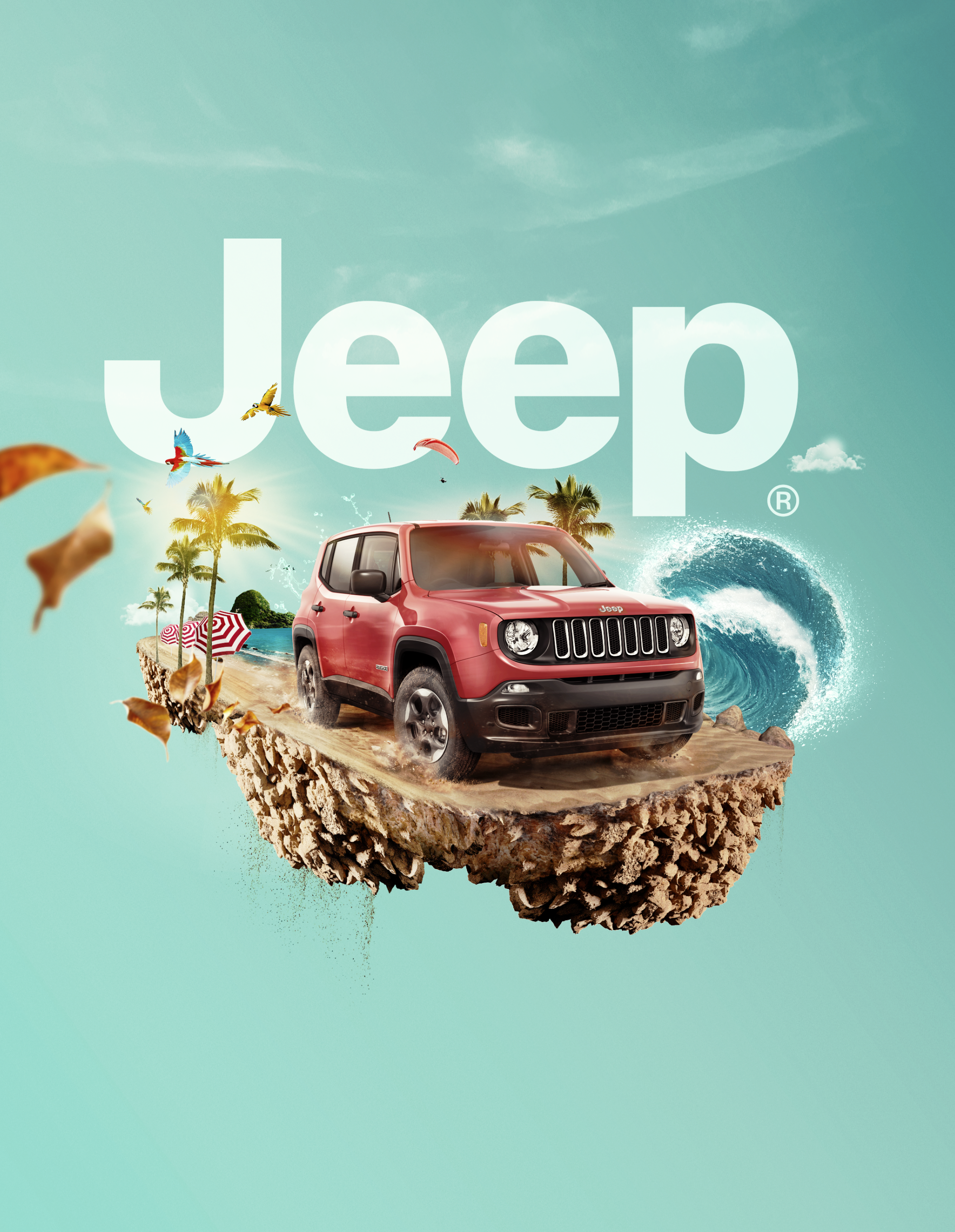 Soft Top Jeep >> Jeep Print Advert By Gitanos: Renegade | Ads of the World™