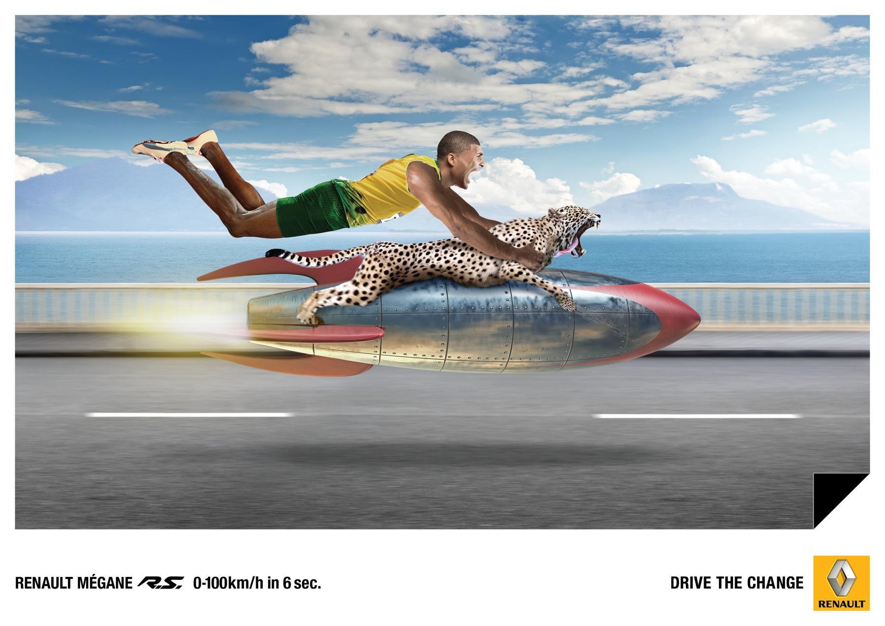 Renault Print Ad -  Cheetah