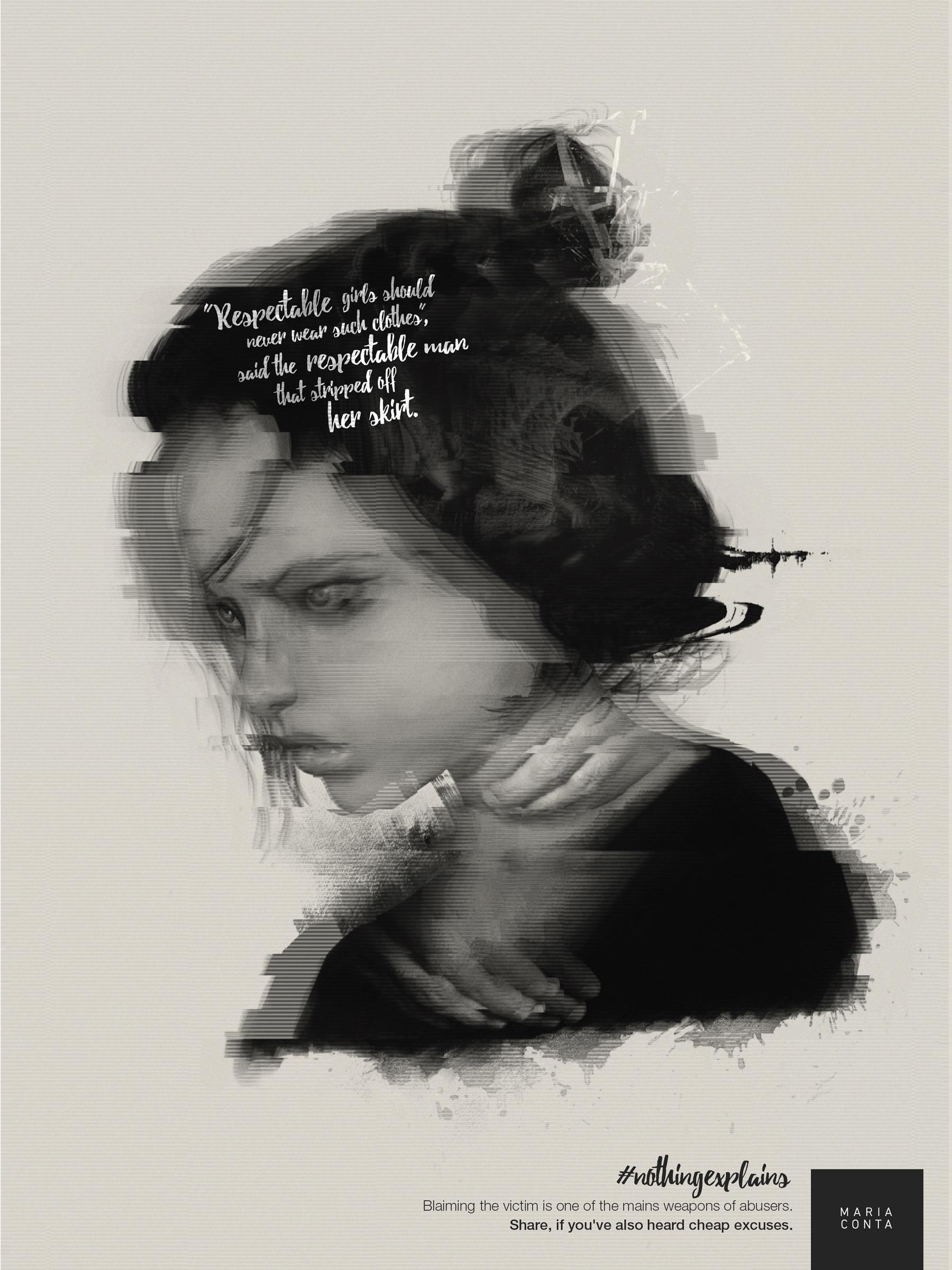 Maria Conta Print Ad - Respectable