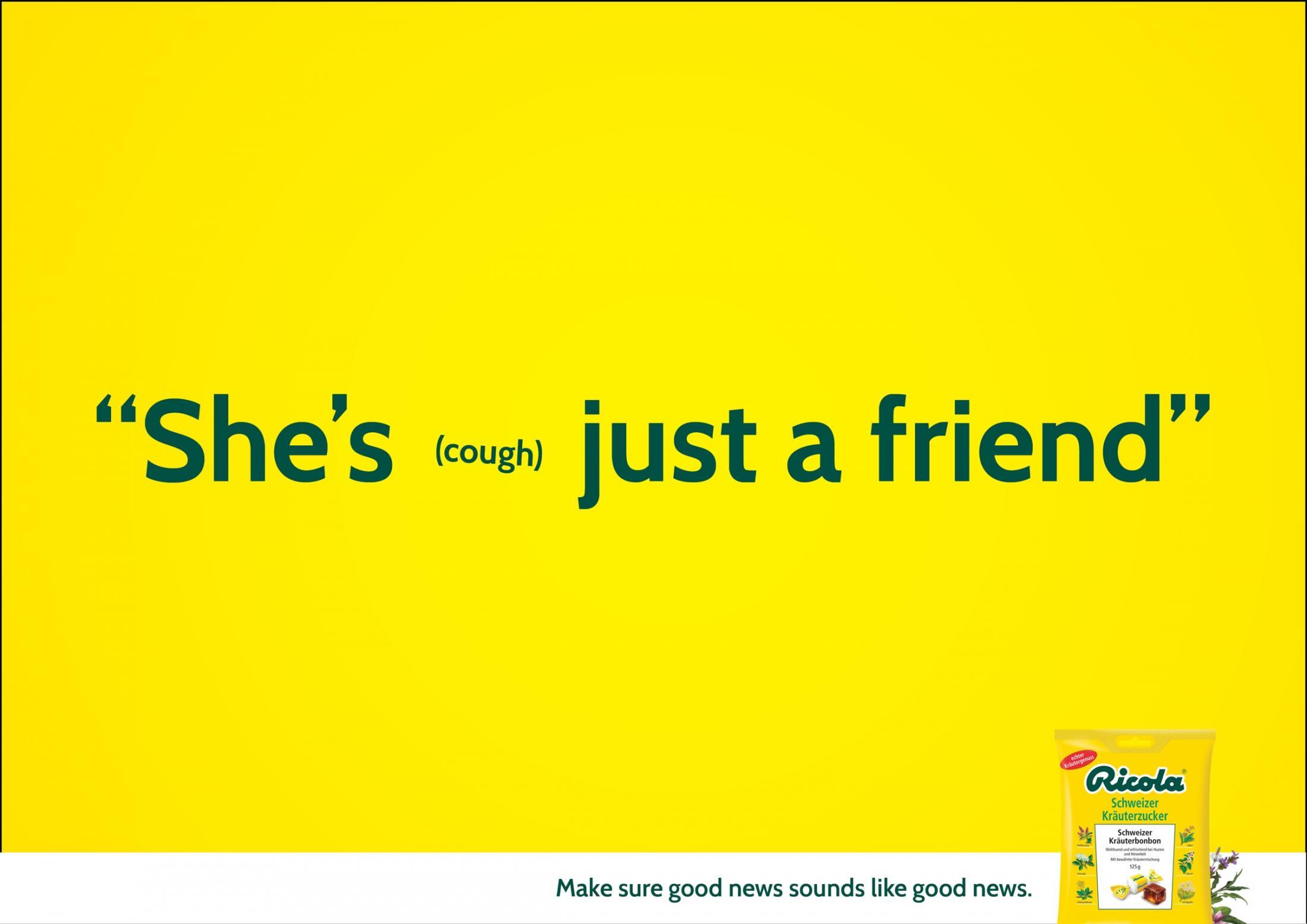 Ricola Print Ad -  Friend