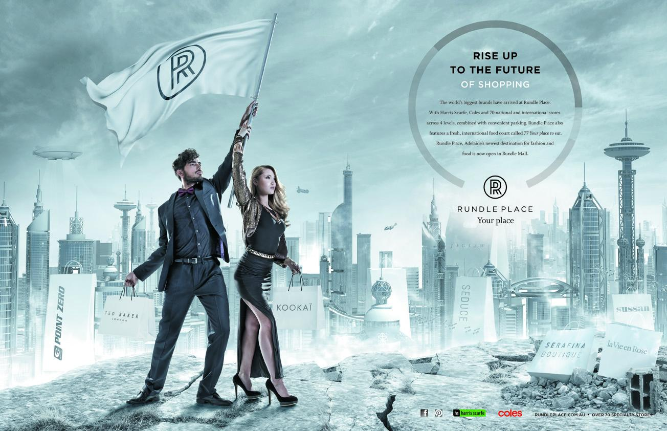 Rundle Place Print Ad -  Rise Up