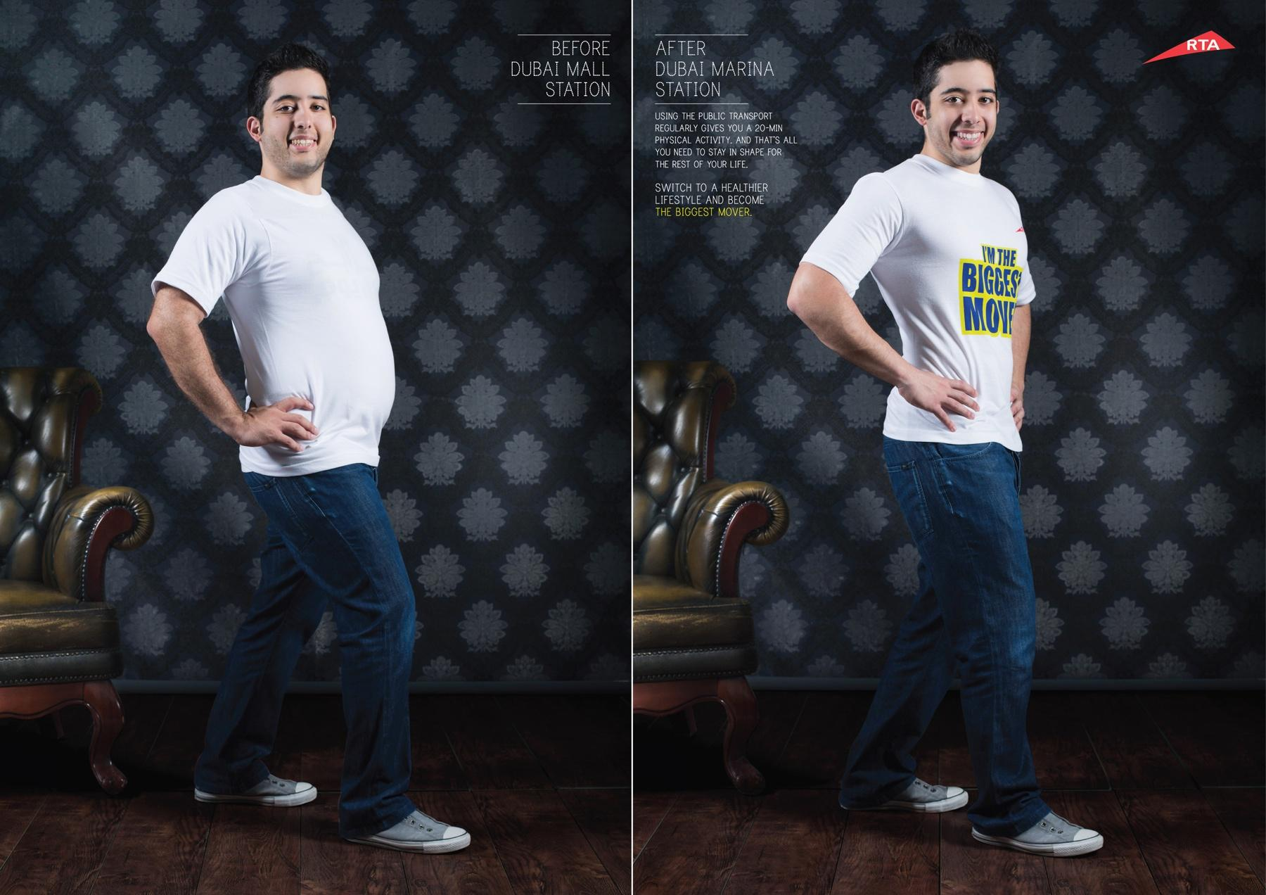 Road and Transport Authority Dubai Print Ad -  I'm the biggest mover, 3