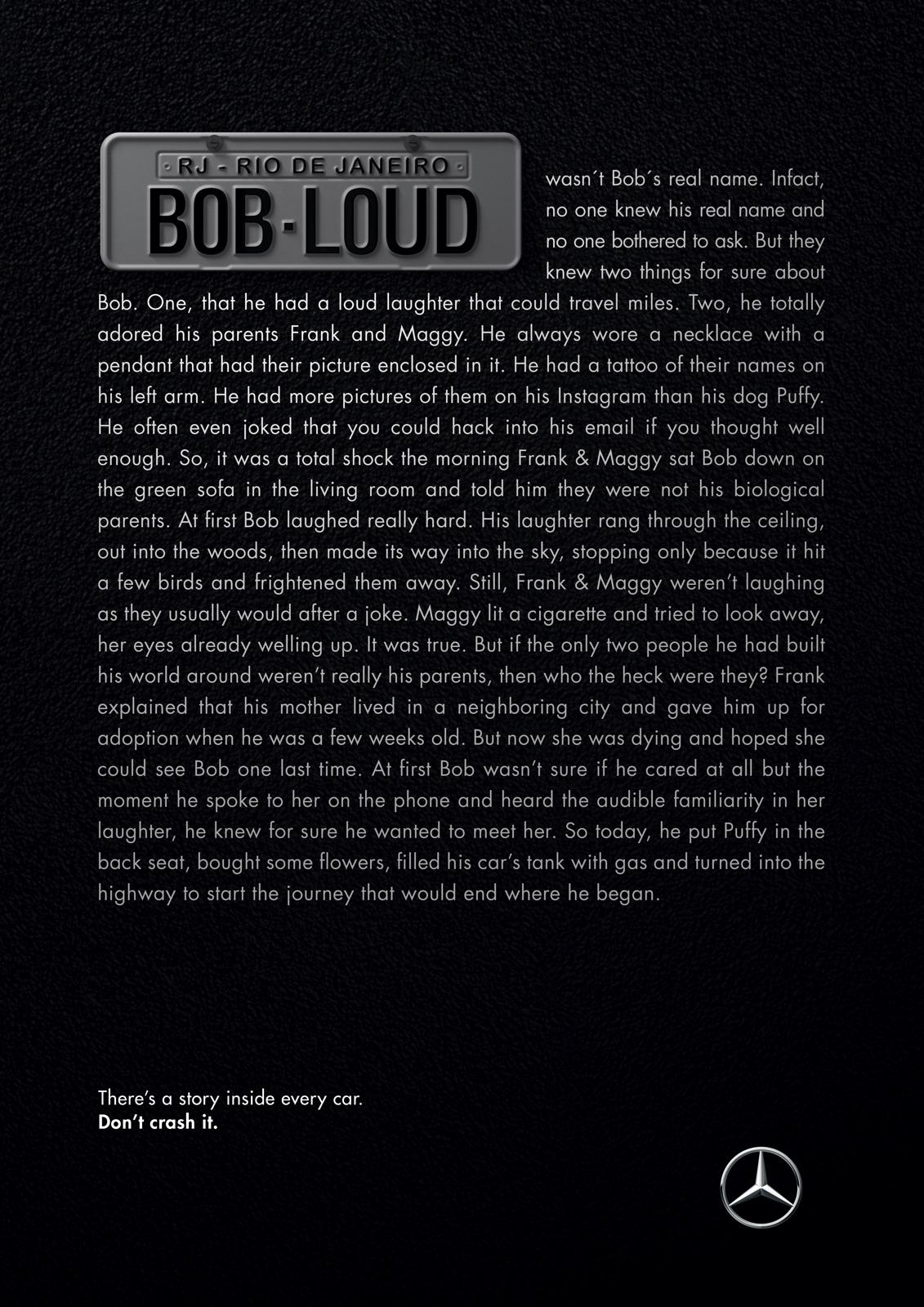 Mercedes: Road Story - Bob Loud