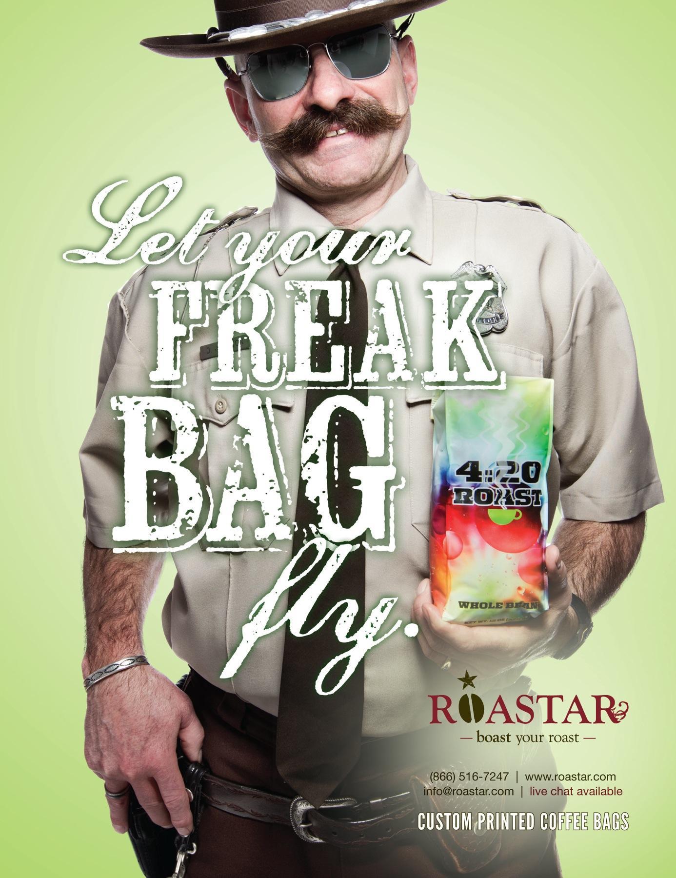 Roastar Print Ad -  Freak Cop