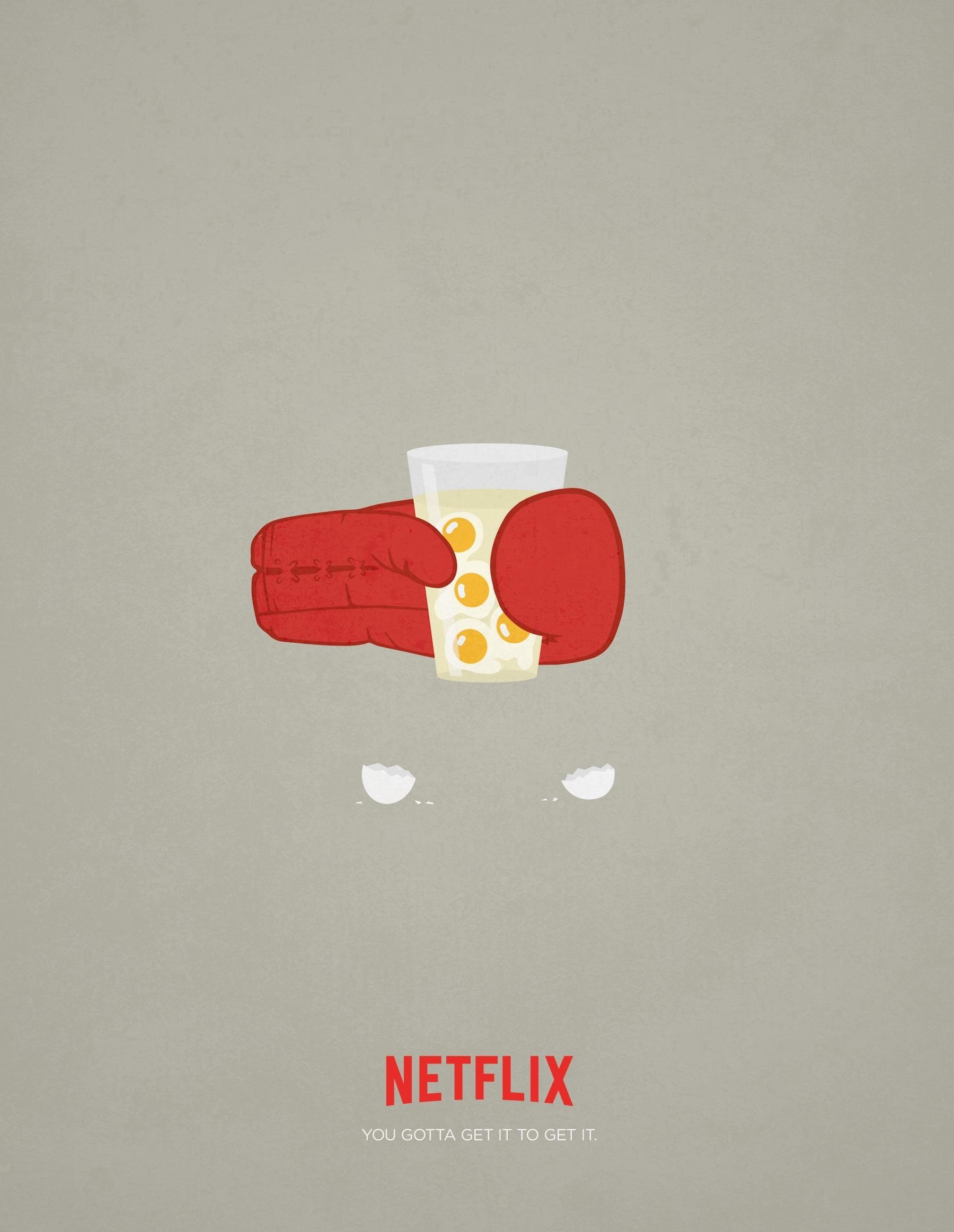 Netflix Outdoor Ad -  Rocky
