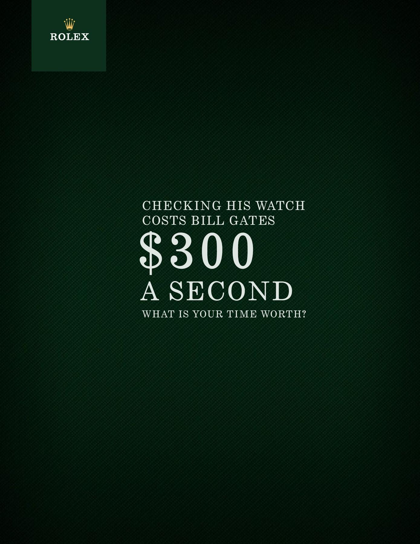 Rolex Print Ad -  Watch