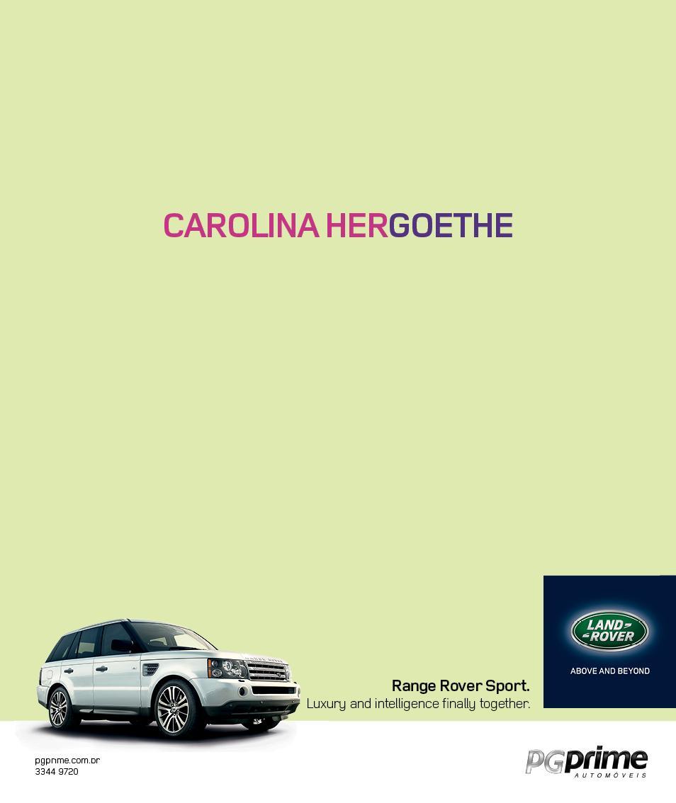 Land Rover Print Ad -  Carolina
