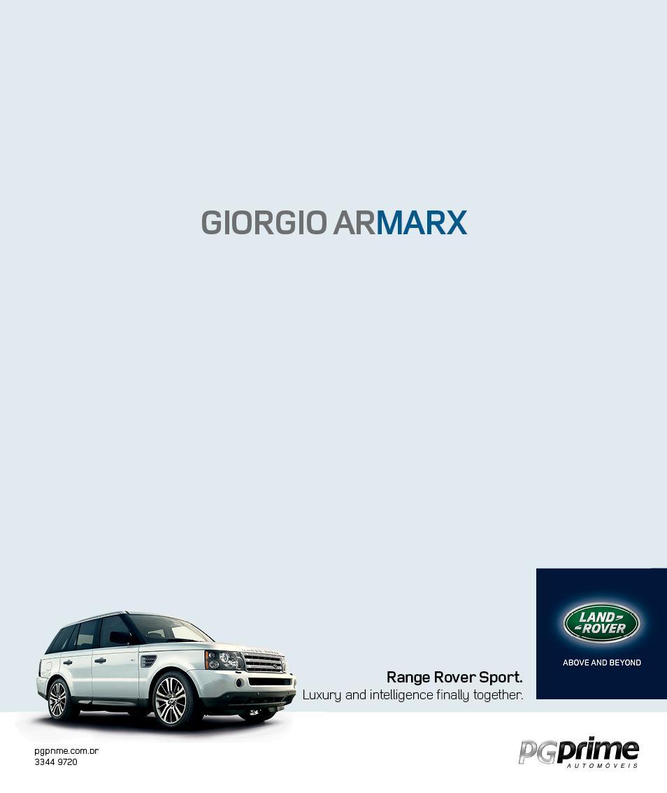 Land Rover Print Ad -  Giorgio