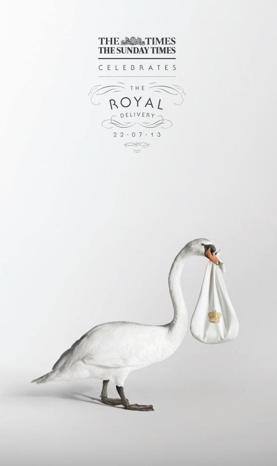The Times Print Ad -  Royal Delivery