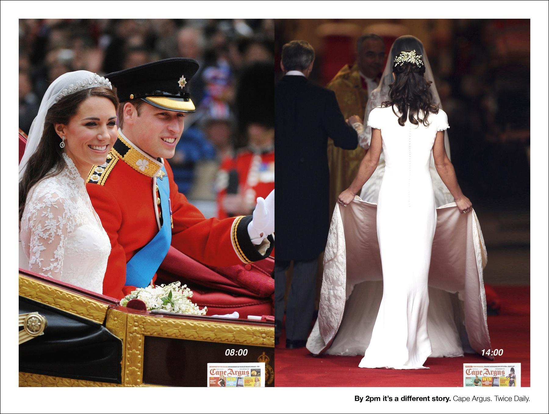Cape Argus Print Ad -  Royal Wedding