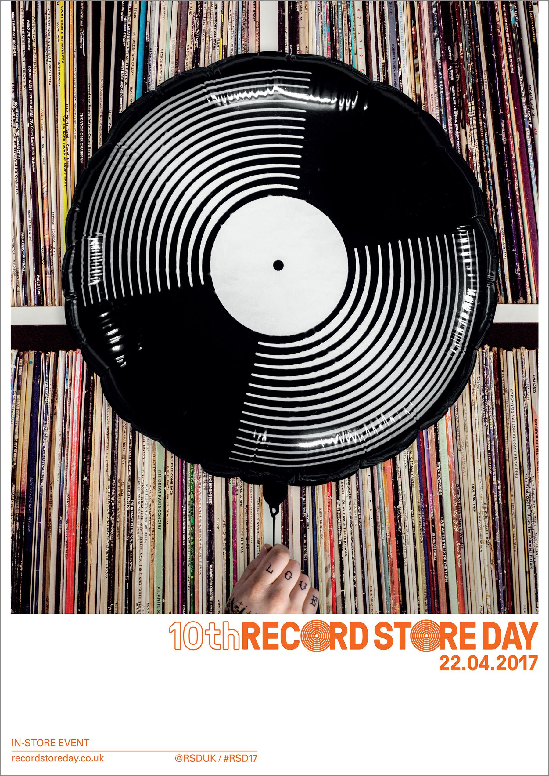 Record Store Day Experiential Ad - 10th Birthday