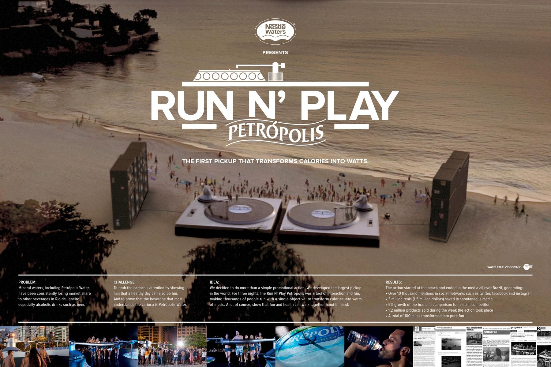 Petrópolis Ambient Ad -  Run 'n play