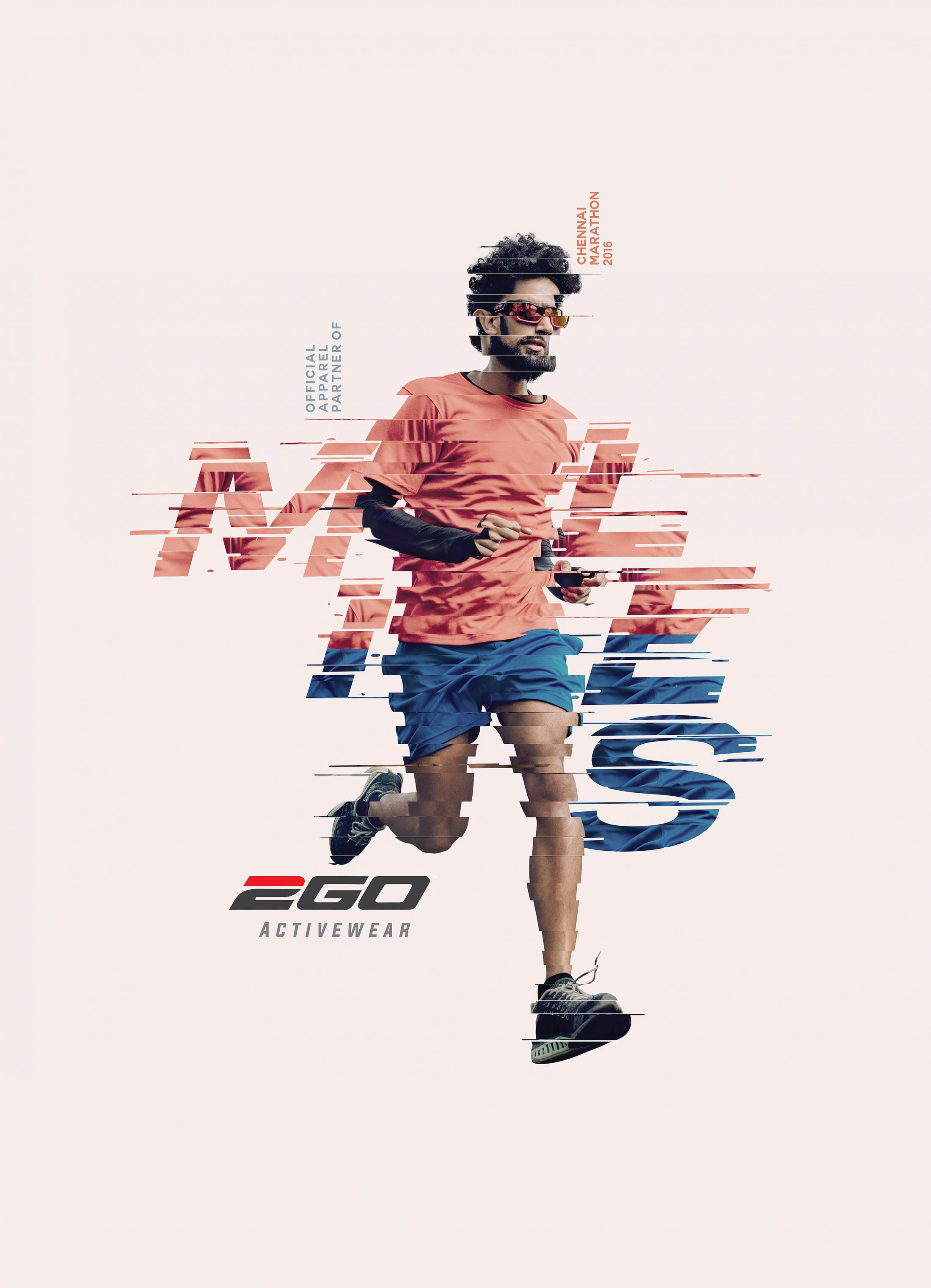 Ego Print Ad - Miles - Runing