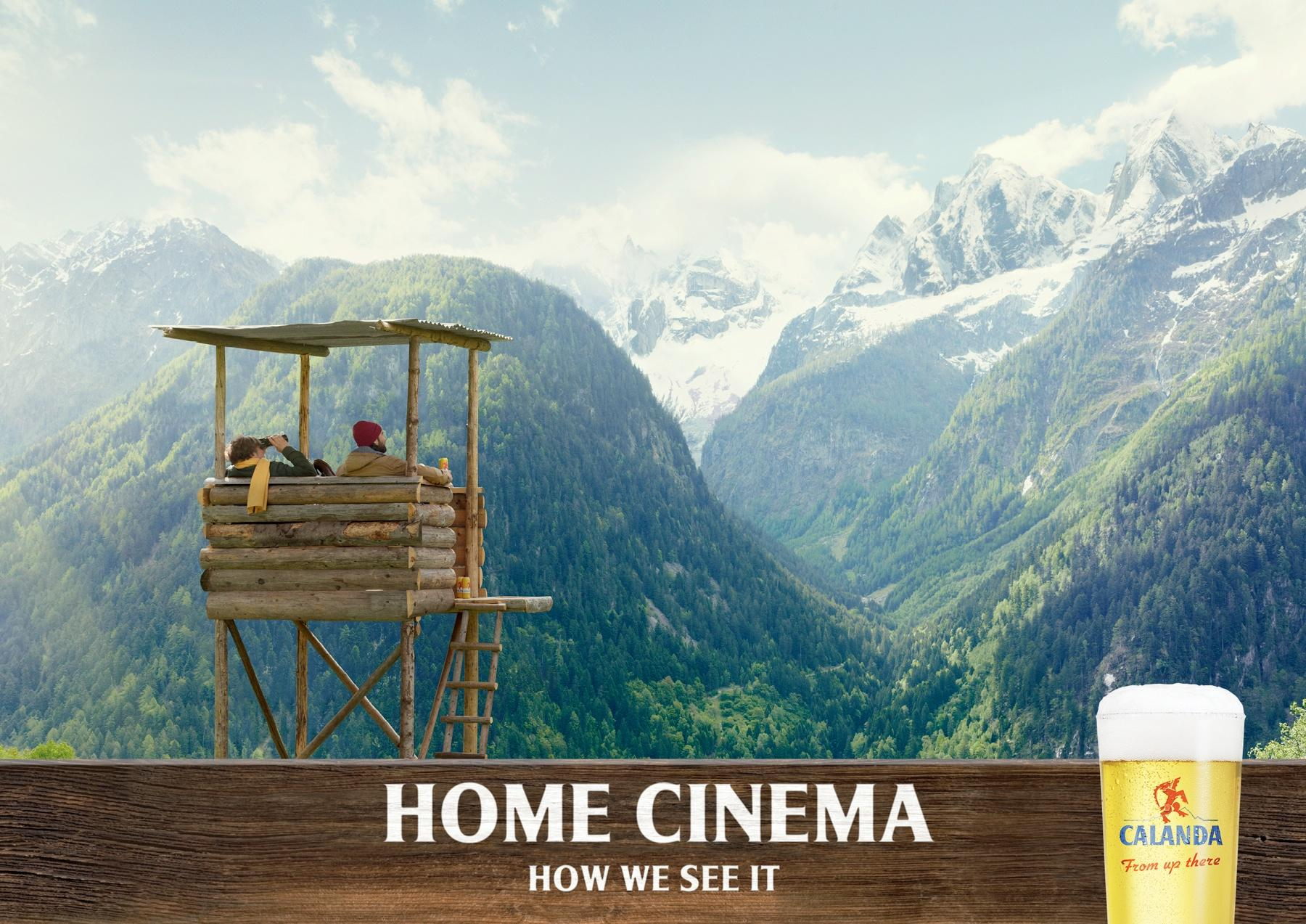 Calanda Print Ad -  Home Cinema