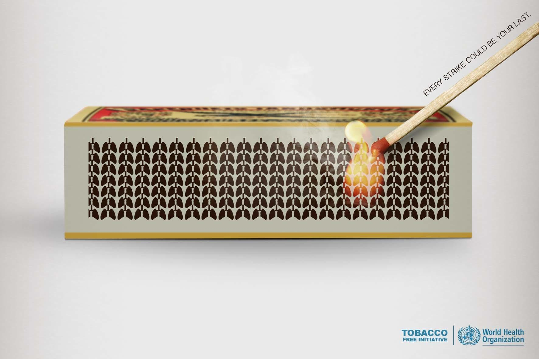 WHO Print Ad -  Lungs