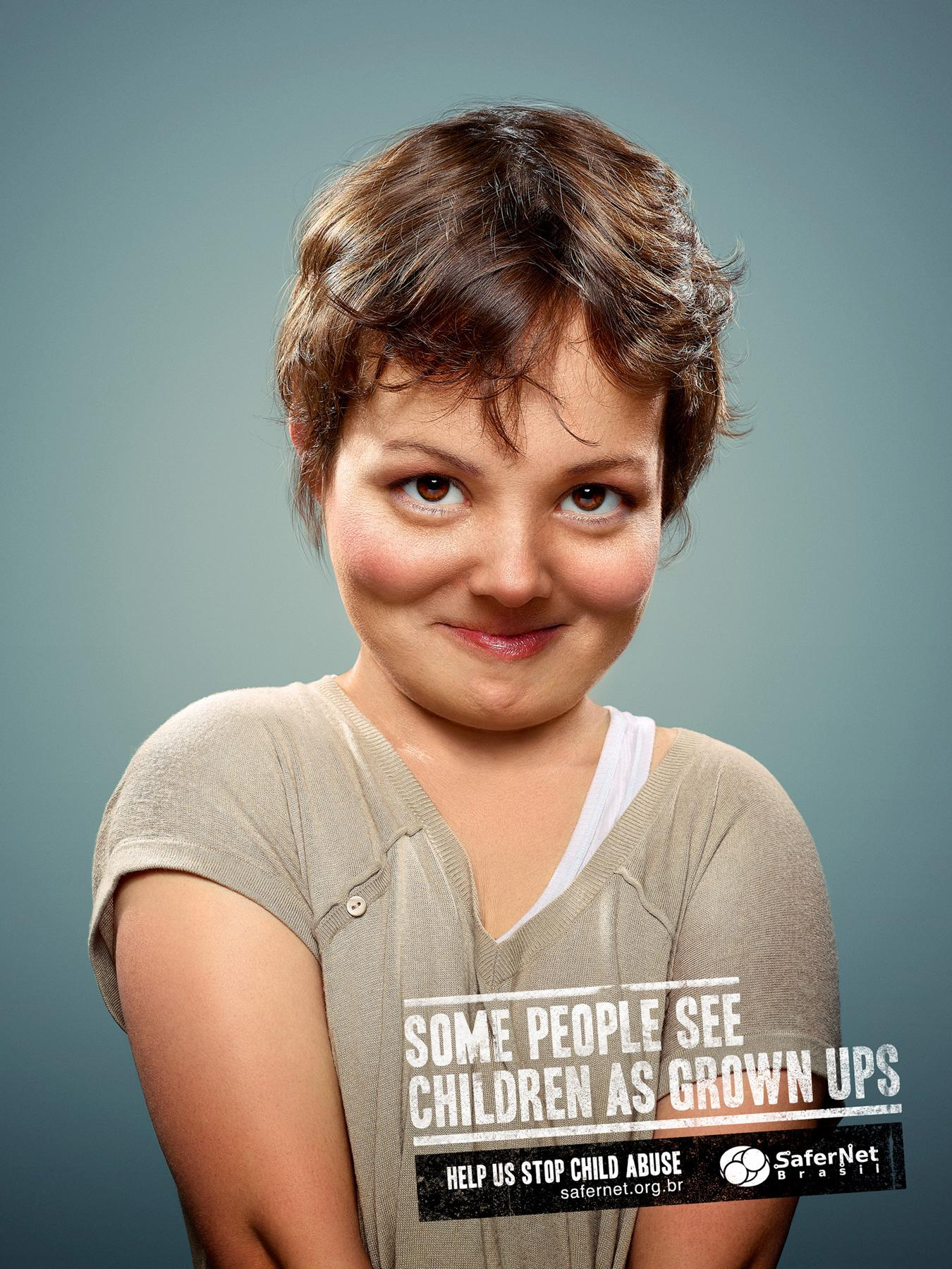 Safernet Brasil Print Ad -  Grown ups, 1
