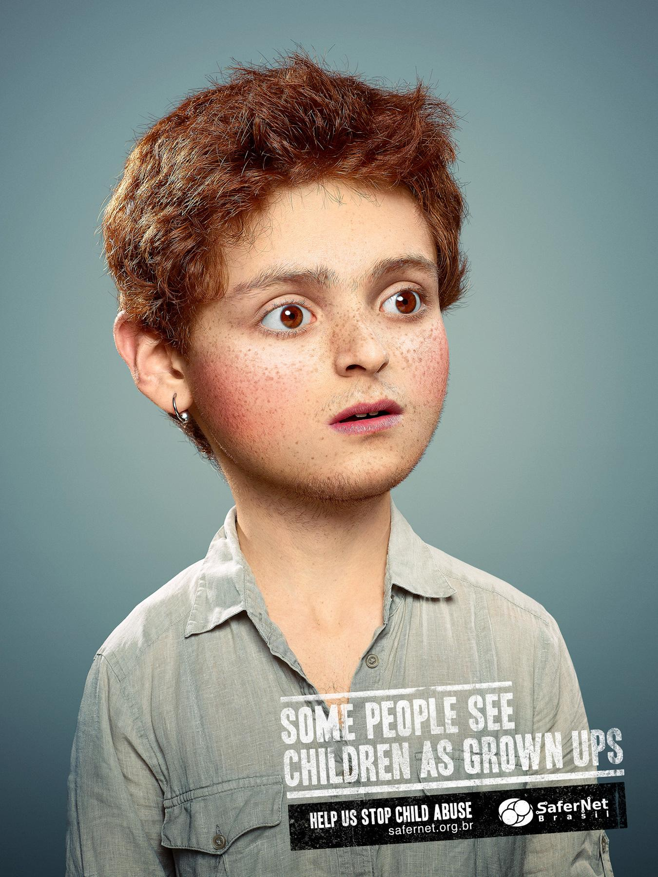 Safernet Brasil Print Ad -  Grown ups, 2